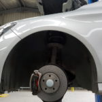 car brakes installed by williams mechanics